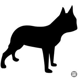 Boston terrier matrica 11