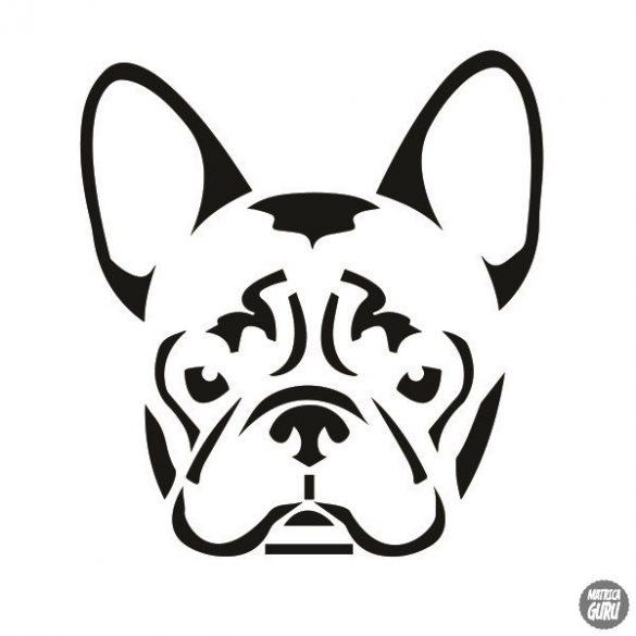 Francia bulldog matrica 11