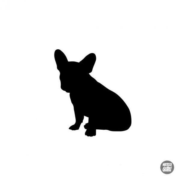 Francia bulldog matrica 14
