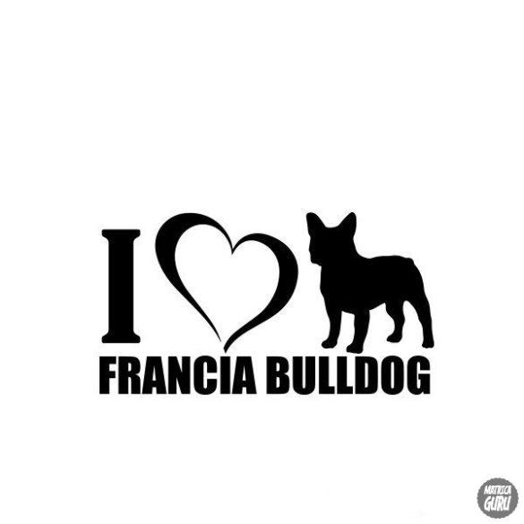 Francia bulldog matrica 16