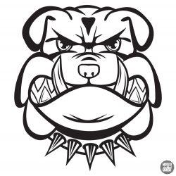 Bulldog matrica 17