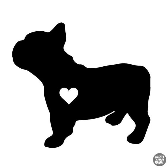 Francia bulldog matrica 19