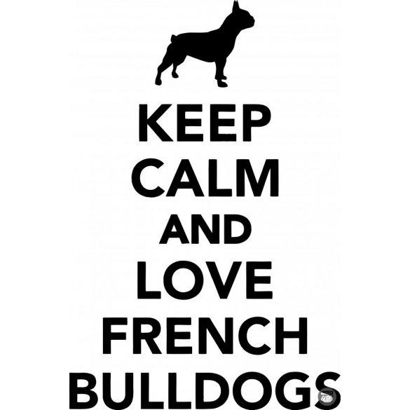 Francia bulldog matrica 21