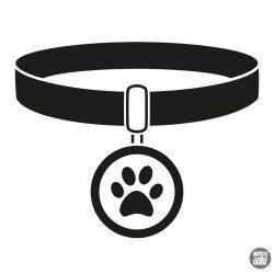 Kutya nyakörv matrica