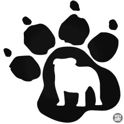 Angol Bulldog tappancs matrica
