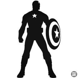 """Amerika kapitány """"1"""" Autómatrica"""