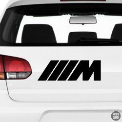 BMW matrica M logó