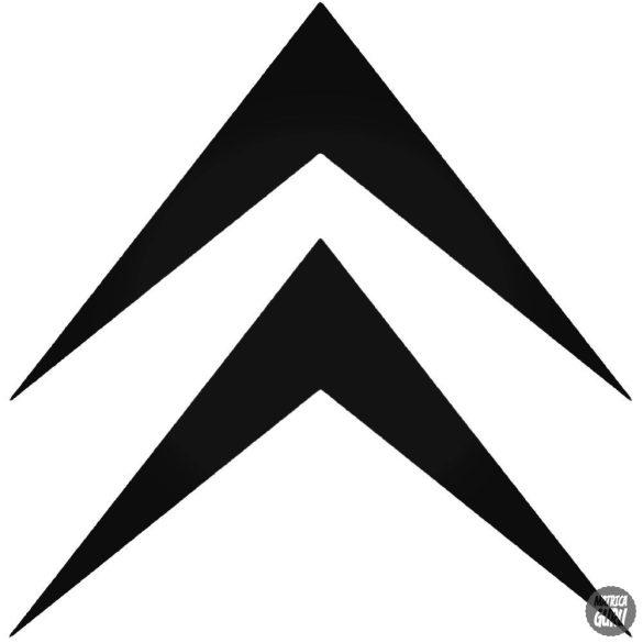 Citroen gyári embléma matrica