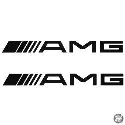 2 db Mercedes AMG felirat matrica