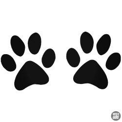 2 db Kutyatappancs matrica
