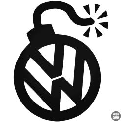Volkswagen embléma matrica