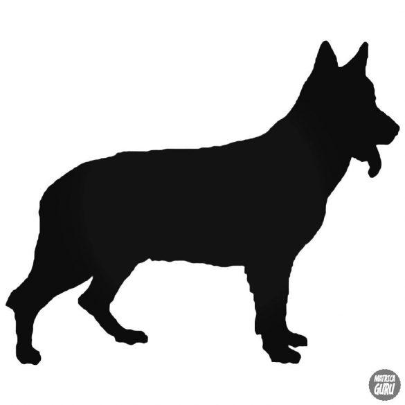 """Németjuhász """"1"""" Kutya matrica"""