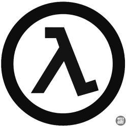 Half Life logó 1 matrica