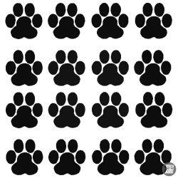 Kutya tappancs szett matrica