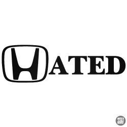 Honda matrica Hated