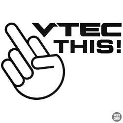 Honda matrica VTEC This!