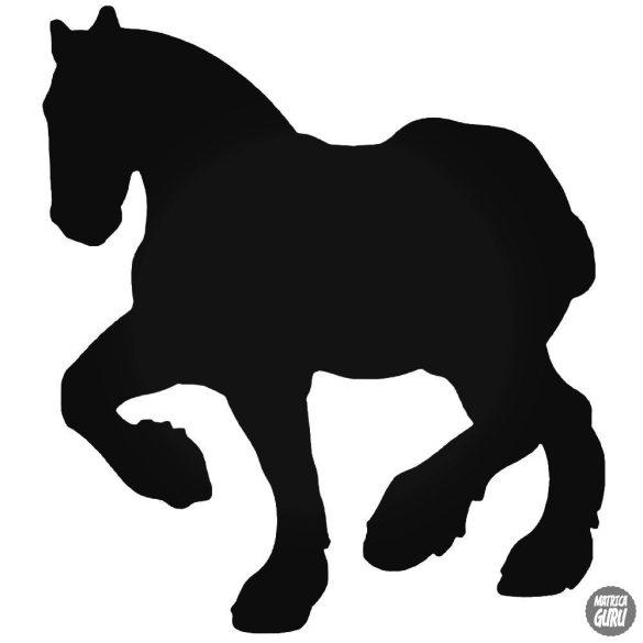 Ügető ló matrica