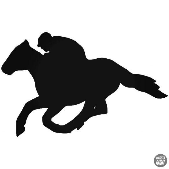 Vágtató ló matrica