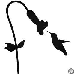 Kolibri pici madár matrica