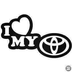 I Love My Toyota matrica