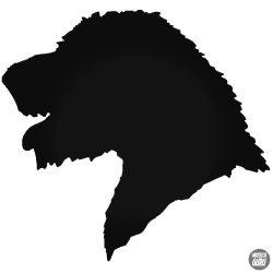 Ír vadászkutya matrica