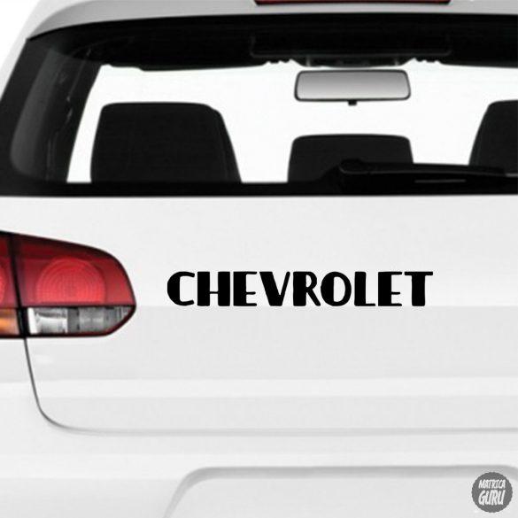Chevrolet embléma matrica 1