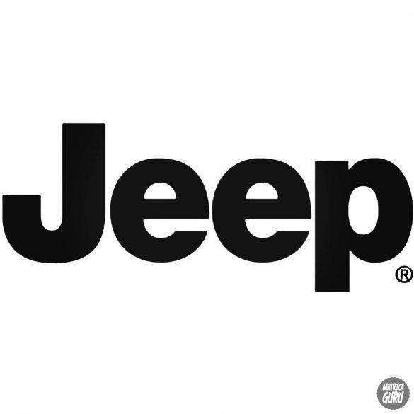 Jeep felirat matrica