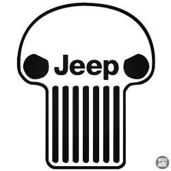 Jeep halálfej matrica