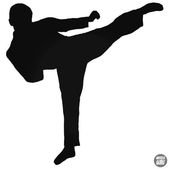 "Karate rugás ""1"" matrica"