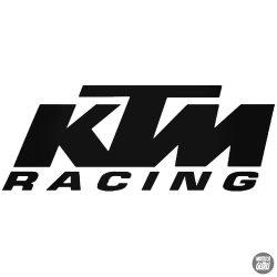 "KTM Racing ""1"" matrica"