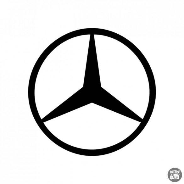 Mercedes embléma matrica