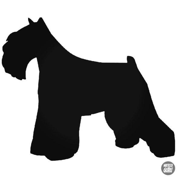 Mini Schnauzer kutya matrica