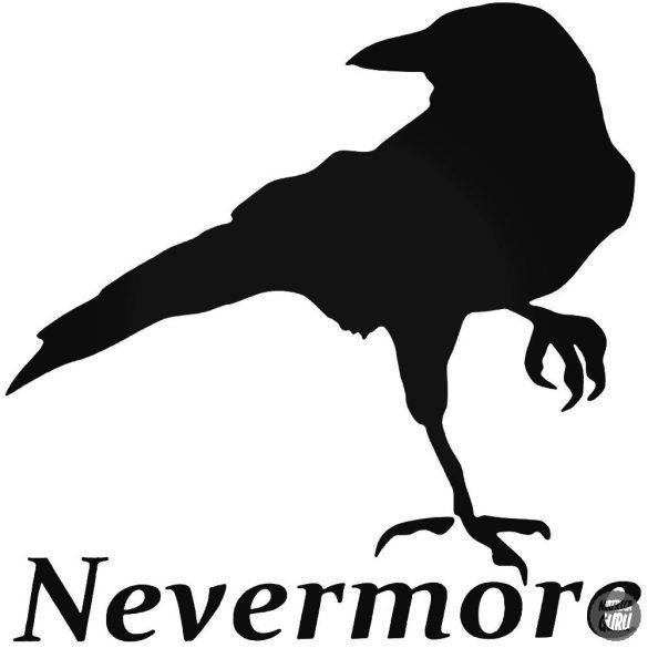 Nevermore madár matrica