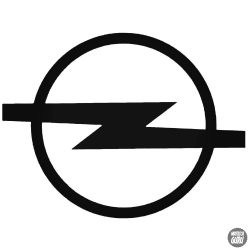 Régi Opel embléma matrica
