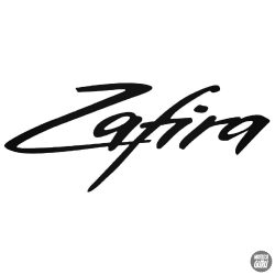 Opel Zafira felirat matrica