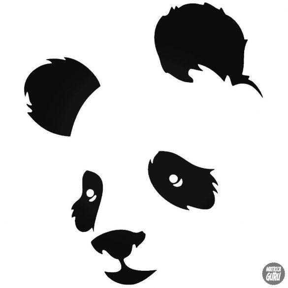 Panda állat matrica