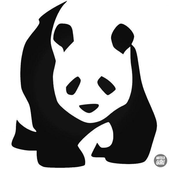 "Panda állat ""1"" matrica"
