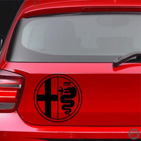 Alfa Romeo embléma matrica