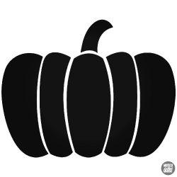 Tök Halloween matrica