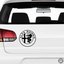 Alfa Romeo embléma matrica 2