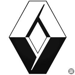 Renault embléma matrica