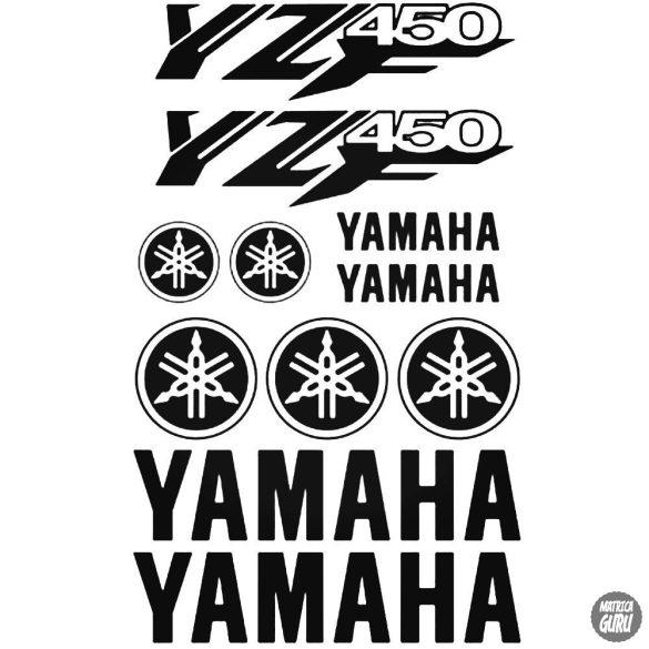 Yamaha Yzf 450 szett matrica