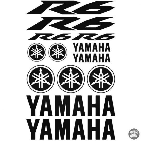 Yamaha R6 szett matrica