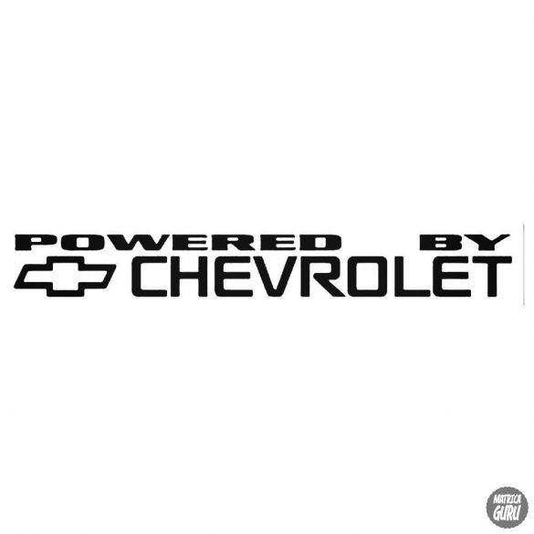 Powered By Chevrolet matrica