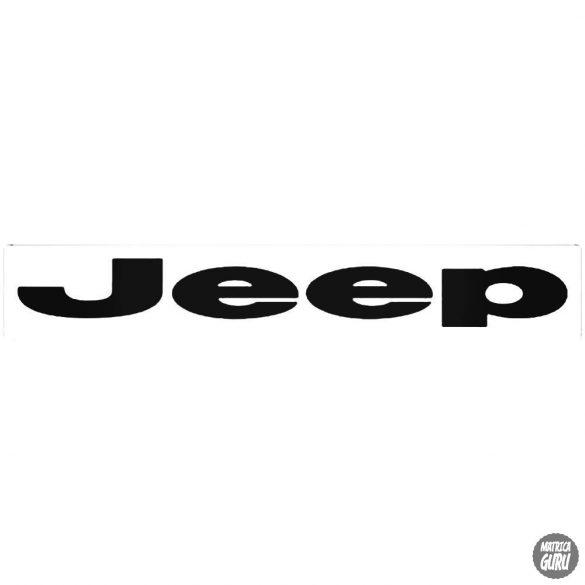 Jeep embléma matrica