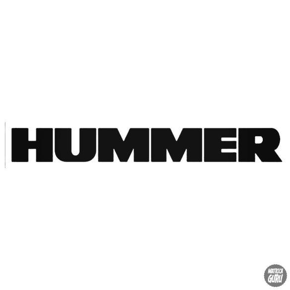 HUMMER felirat - Autómatrica