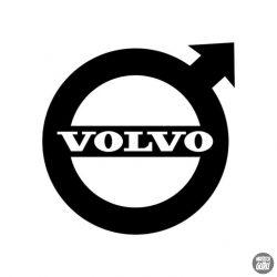 Volvo embléma matrica 1