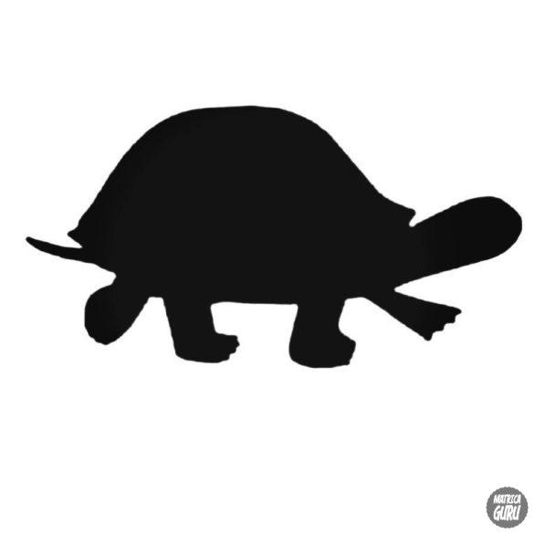 Lépkedő teknős matrica
