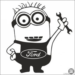 Ford matrica Minion szerelő