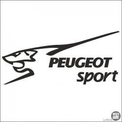 Peugeot matrica Sport felirat